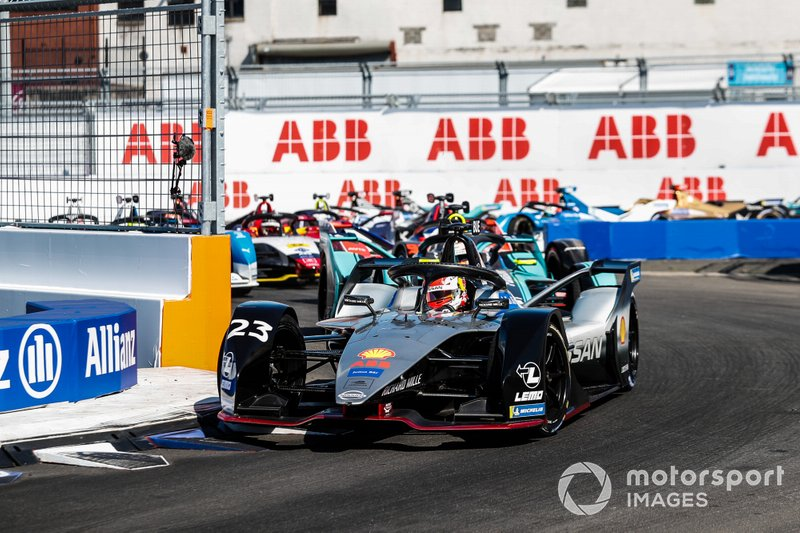 Sébastien Buemi, Nissan e.Dams, Nissan IMO1, Alex Lynn, Panasonic Jaguar Racing, Jaguar I-Type 3