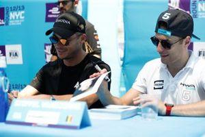 Andre Lotterer, DS TECHEETAH, Stoffel Vandoorne, HWA Racelab