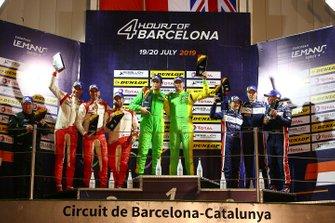 Podyum LMP3: Yarış galibi #13 Inter Europol Competition Ligier JS P3 Nissan: Martin Hippe, Nigel Moore, 2. #17 Ultimate Norma M 30 Nissan: Mathieu Lahaye, Jean-Baptiste Lahaye, François Heriau, 3. #2 United Autosports Ligier JS P3 Nissan: Wayne Boyd, Garett Grist, Tommy Erdos