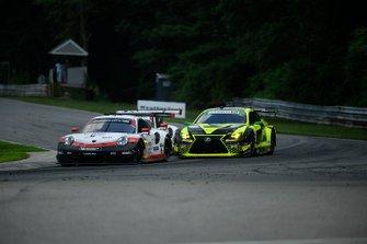 #912 Porsche GT Team Porsche 911 RSR, GTLM: Earl Bamber, Laurens Vanthoor, #14 AIM Vasser Sullivan Lexus RC F GT3, GTD: Richard Heistand, Jack Hawksworth