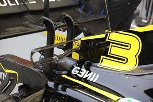 Renault F1 Team R.S.19, rear detail