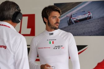 #30 Honda Team Motul Honda NSX GT3 Evo: Marco Bonanomi