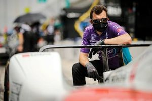 Pietro Fittipaldi, Dale Coyne Racing with RWR Honda crew member