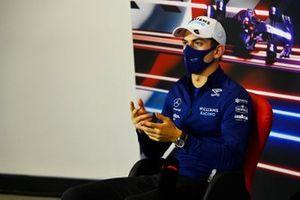 Nicholas Latifi, Williams, in the press conference