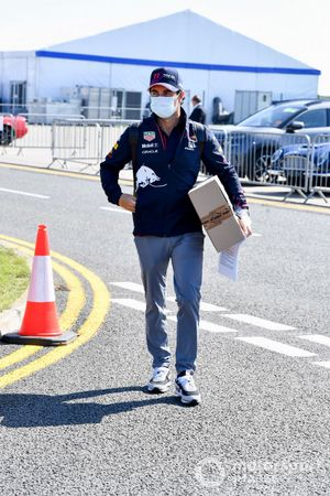Sergio Perez, Red Bull Racing arrives