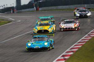 #25 Huber Motorsport Porsche 911 GT3 R: Achim Thyssen, Klaus Rader, Marco Seefried, Johannes Stengel
