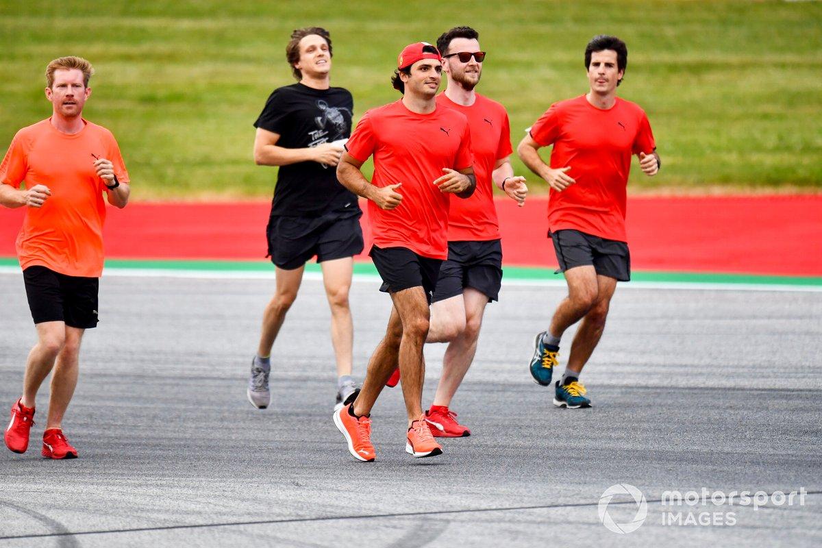 Carlos Sainz Jr., Ferrari, recorre la pista del Red Bull Ring