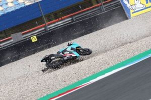 Chute de Xavi Vierge, Petronas Sprinta Racing