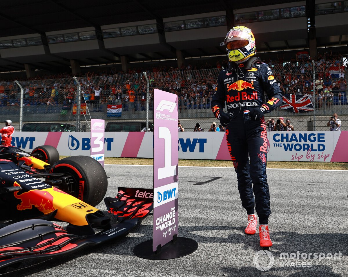 Ganador de la Pole Max Verstappen, Red Bull