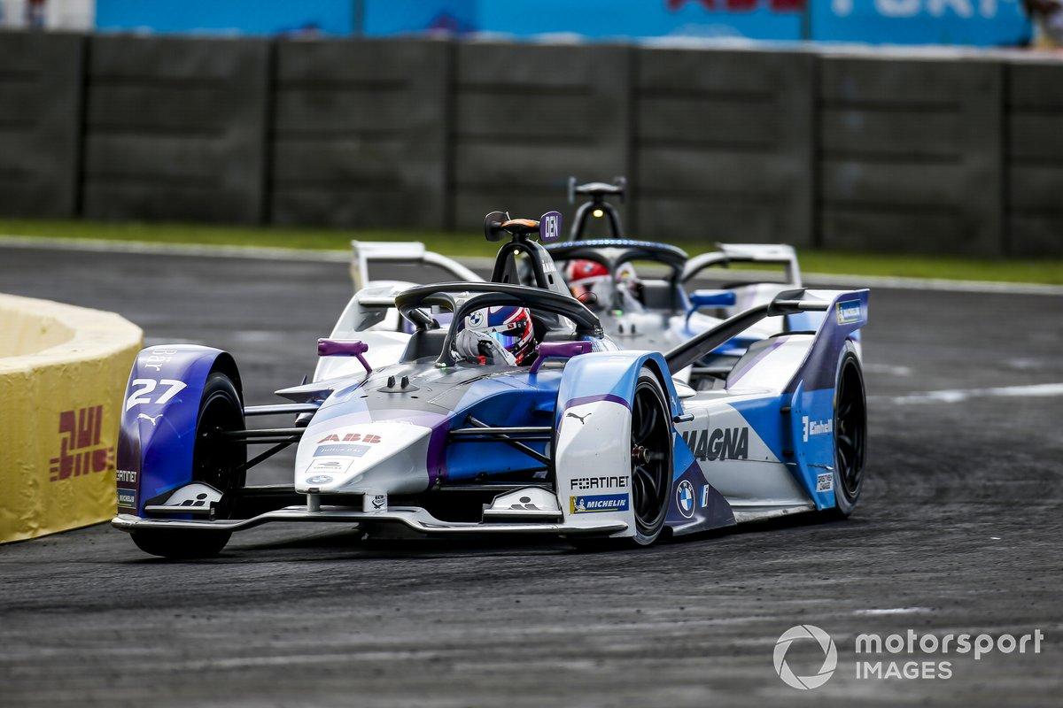 Jake Dennis, BMW i Andretti Motorsport, BMW iFE.21, Maximilian Gunther, BMW i Andretti Motorsport, BMW iFE.21