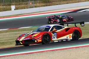 #321 AF Corse, Ferrari 488 Challenge Evo: Cedric Sbirrazzuoli, Hugo Delacour