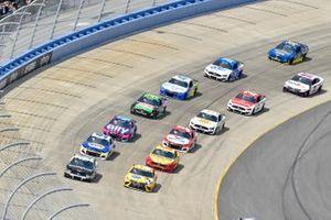 Kyle Busch, Joe Gibbs Racing, Toyota Camry Pedigree, Aric Almirola, Stewart-Haas Racing, Ford Mustang Smithfield
