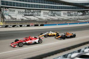 Marcus Ericsson, Chip Ganassi Racing Honda, Josef Newgarden, Team Penske Chevrolet, Patricio O'Ward, Arrow McLaren SP Chevrolet
