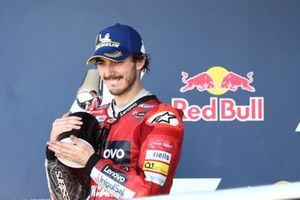 Podium: Francesco Bagnaia, Ducati Team