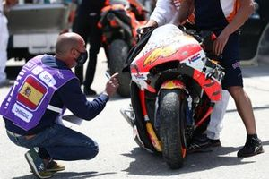 Pol Espargaro, Repsol Honda Team crash