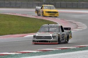 Christian Eckes, ThorSport Racing, Toyota Tundra Farm Paint/CurbRecords, Roger Reuse, Jordan Anderson Racing, Chevrolet Silverado I Heart Mac & Cheese