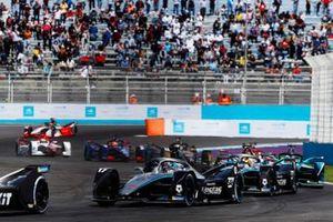 Nyck de Vries, Mercedes Benz EQ, EQ Silver Arrow 02, Stoffel Vandoorne, Mercedes Benz EQ, EQ Silver Arrow 02, Oliver Turvey, NIO 333 001