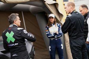 Alejandro Agag, CEO, Extreme E, Catie Munnings, Andretti United Extreme E e Sua Altezza Reale il Principe William, Duca di Cambridge