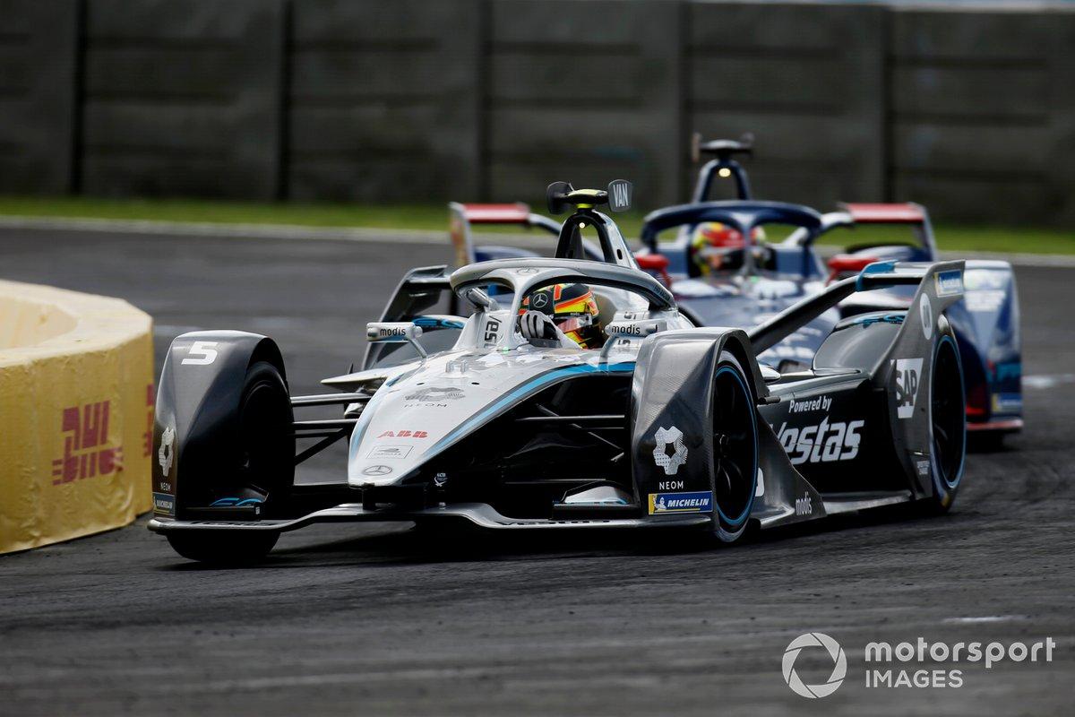 Stoffel Vandoorne, Mercedes Benz EQ, EQ Silver Arrow 02, Robin Frijns, Envision Virgin Racing, Audi e-tron FE07