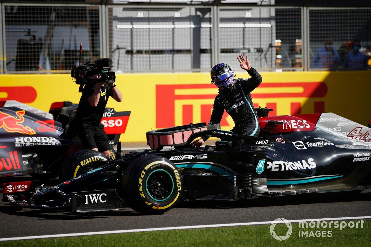 Segundo puesto de la carrera Sprint, Lewis Hamilton, Mercedes
