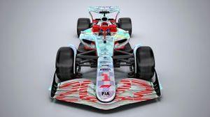 F1 2022 car