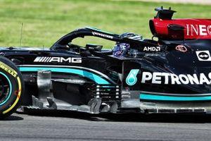 Lewis Hamilton, Mercedes W12 detail