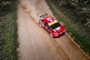 Mads Østberg, Torstein Eriksen, TRT World Rally Team Citroen C3 Rally2