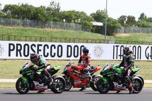 Alex Lowes, Kawasaki Racing Team WorldSBK, Michael Ruben Rinaldi, Aruba.It Racing - Ducati, Jonathan Rea, Kawasaki Racing Team WorldSBK