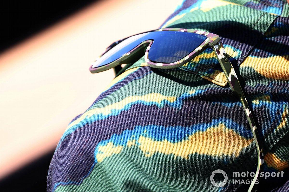 Gafas de sol de Lewis Hamilton, Mercedes