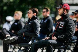 Patricio O'Ward, Arrow McLaren SP Chevrolet, Ed Jones, Dale Coyne Racing with Vasser Sullivan Honda