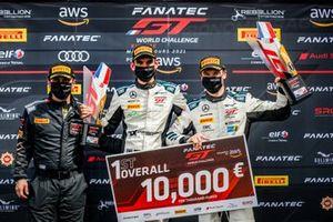 Podium: #6 Mercedes-AMG Team Toksport WRT Mercedes-AMG GT3: Luca Stolz, Maro Engel