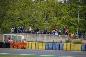 Fan alla gara del GP di Francia
