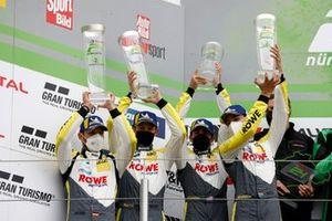 2. #98 ROWE Racing BMW M6 GT3: Connor De Phillippi, Martin Tomczyk, Sheldon van der Linde, Marco Wittmann