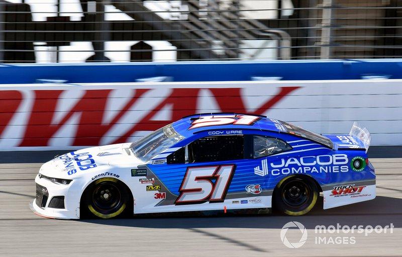 34. Cody Ware, Petty Ware Racing, Chevrolet Camaro Jacob Companies