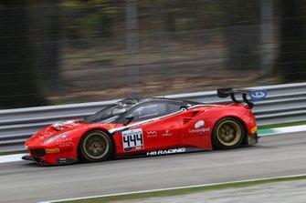 #444 HB Racing Ferrari 488 GT3: Florian Scholze, Jens Liebhaser, Andrzej Lewandowski