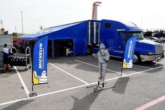 L'équipe technique de Michelin