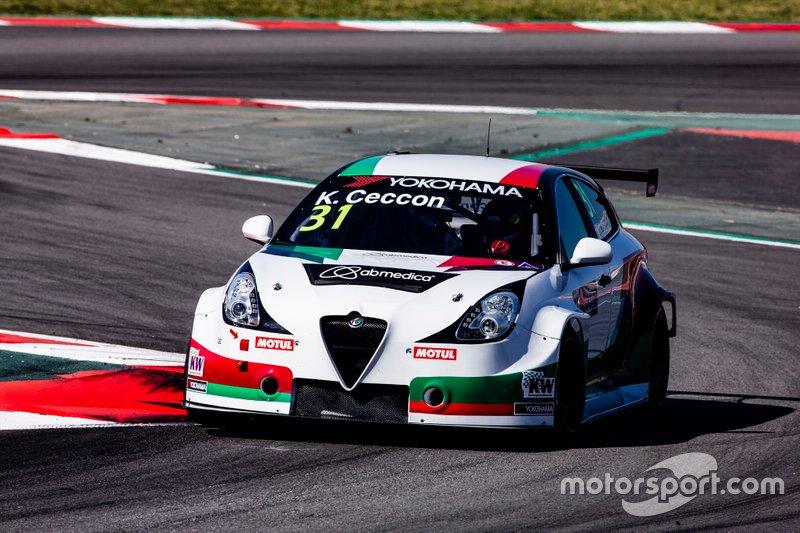 №31. Кевин Чеккон (Италия, 25 лет), Alfa Romeo Giulietta TCR, команда Team Mulsanne