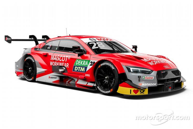 Loic Duval, Audi Sport Team Phoenix, Audi RS 5 DTM livery