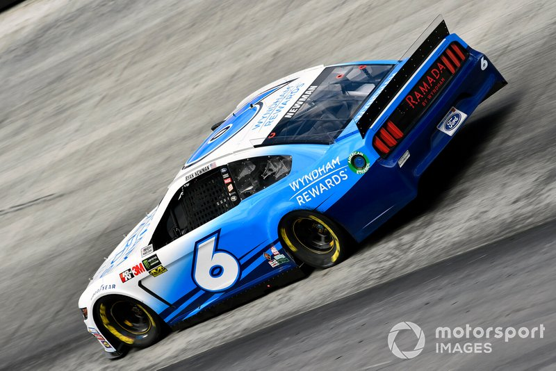 9. Ryan Newman, Roush Fenway Racing, Ford Mustang