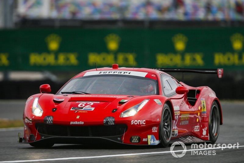2. #62 Risi Competizione Ferrari 488 GTE, GTLM: Davide Rigon, Miguel Molina, Alessandro Pier Guidi, James Calado