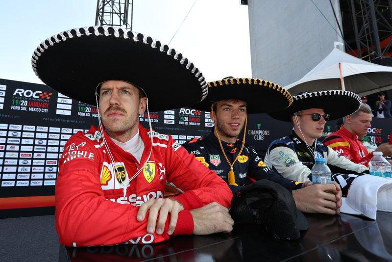 Sebastian Vettel, Pierre Gasly