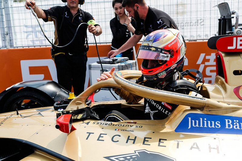 Jean-Eric Vergne, DS TECHEETAH, DS E-Tense FE19,