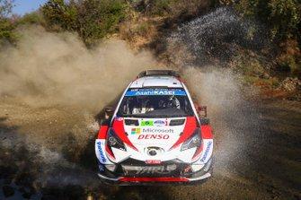 Kris Meeke, Sebastian Marshall, Toyota Racing, Toyota Yaris WRC