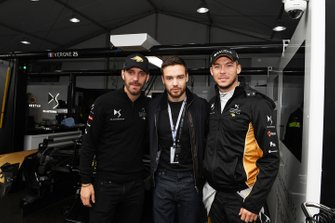 Laim Payne meets Jean-Eric Vergne, DS TECHEETAH, Andre Lotterer, DS TECHEETAH