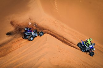 Quad action in the dunes