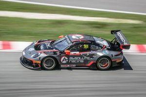 #911 Absolute Racing Porsche 911 GT3 R: Tanart Sathienthirakul, Philip Hamprecht