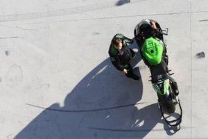Leon Haslam, Kawasaki Racing motor