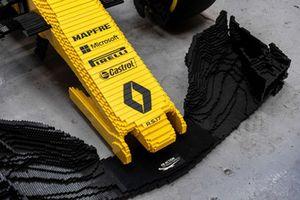 Lego Renault R.S.17, detalle del alerón delantero