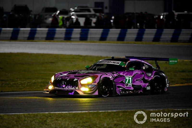 #71 P1 Motorsports Mercedes-AMG GT3, GTD: Maximilian Buhk, Fabian Schiller, Dominik Baumann, JC Perez