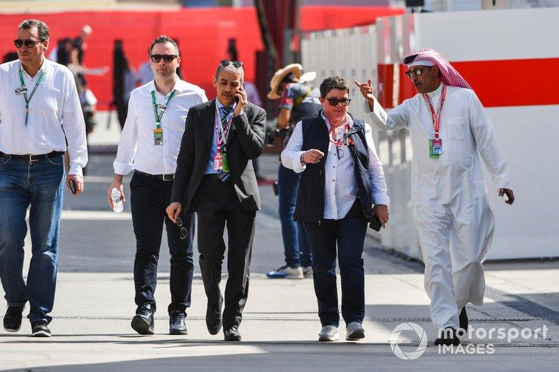 Shaikh Salman Bin Isa Al Khalifa, director del Bahrain International Circuit